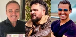 Gugu, Luciano e Eduardo Costa