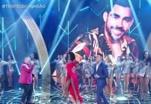 Homenagem para Gabriel Diniz (Reprodução/TV Globo)