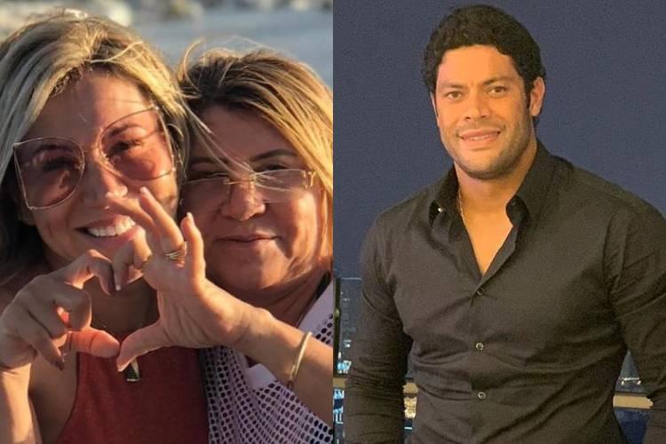 Mãe da namorada de Hulk Paraíba está contra a filha e apoiando a irmã, afirma colunista