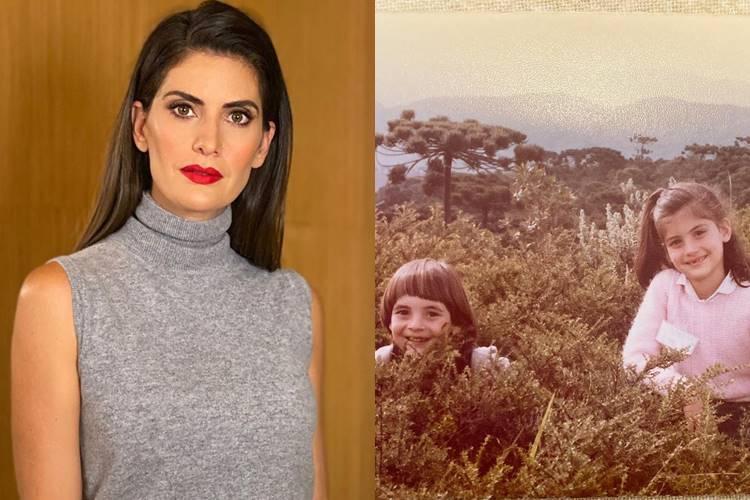 Isabella Fiorentino relembra momento com irmão que faleceu aos 15 anos