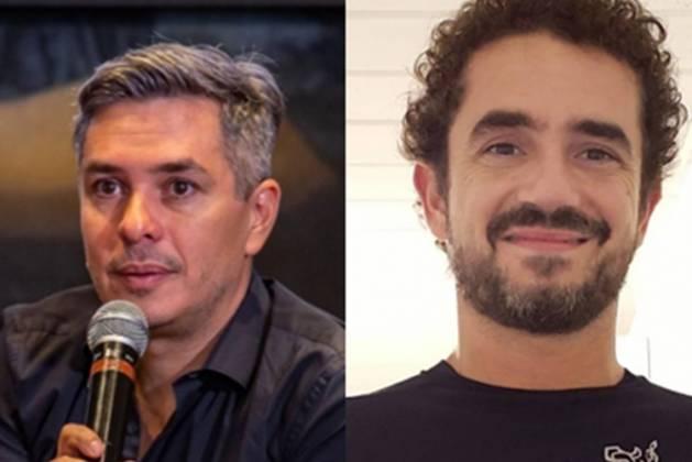 Ivan Moré e Felipe Andreoli repodução Instagram Montagem Área Vip