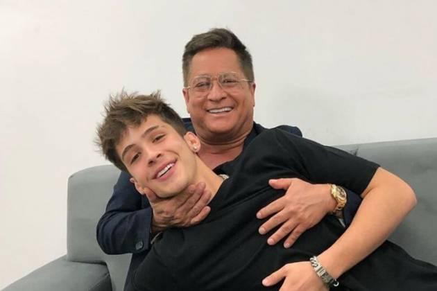 João Guilherme e Leonardo - Reprodução: Instagram