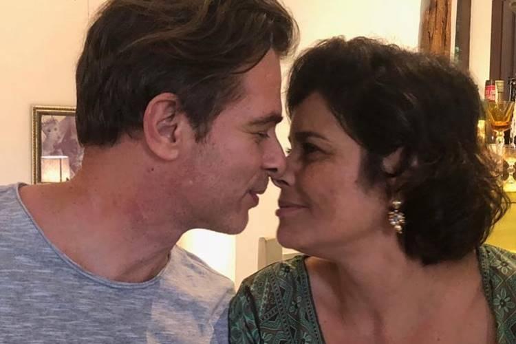João Vitti e Valéria Alencar oficializam casamento