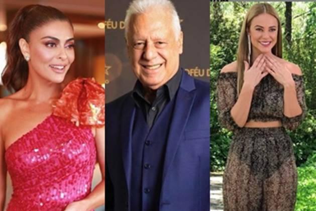 Juliana Paes, Antonio Fagundes e Paolla Oliveira reprodução Instagram