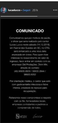 Lucas Lucco Reprodução instagram