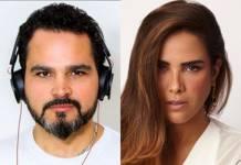 Luciano Camargo e Wanessa Camargo reprodução Instagram Montagem Àrea Vip