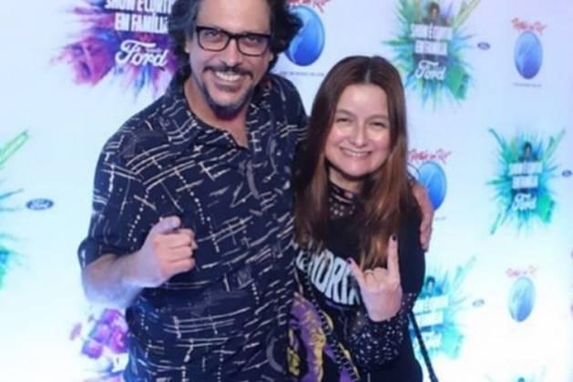 Lúcio Mauro Filho e esposa Cíntia Oliveira reprodução Instagram