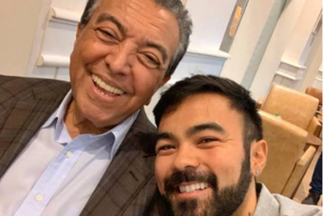 Maurício de Sousa e o filho Mauro Sousa reprodução Instagram