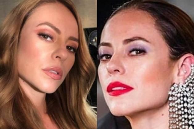 Paolla Oliveira e personagem Vivi Guedes reprodução Instagram