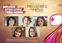 Prêmio Área VIP - Categoria Melhor Artista Mirim de 2019