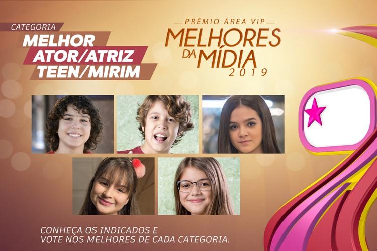 Qual foi o Melhor Ator/Atriz Teen/Mirim de 2019? – Vote no Prêmio Área VIP!