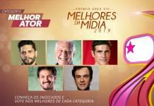 Prêmio Área VIP - Categoria Melhor Ator de 2019
