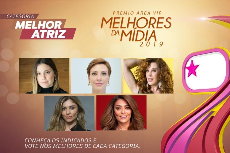 Prêmio Área VIP - Categoria Melhor Atriz de 2019