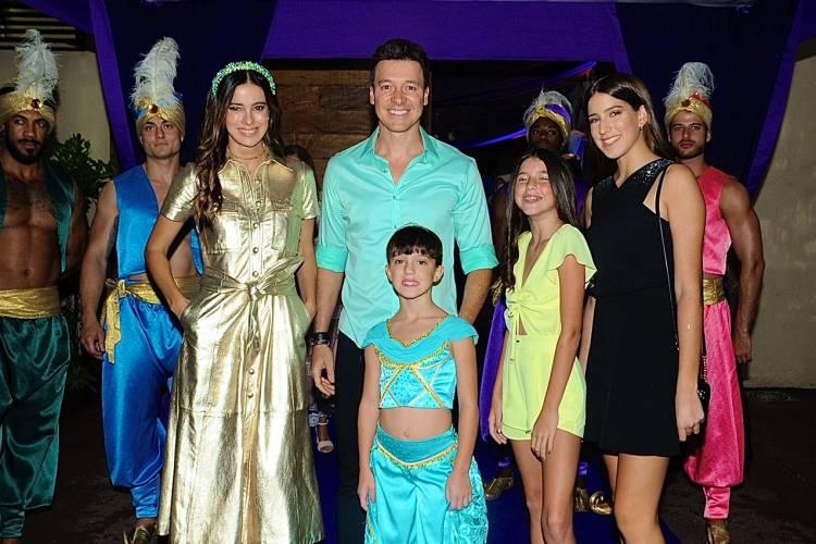Rodrigo Faro celebra o aniversário da filha, Helena, com festa temática