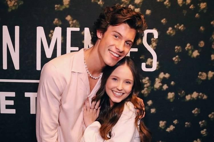 Larissa Manoela relembra encontro com cantor Shawn Mendes
