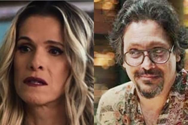 Silvana ( Ingrid Guimarães) e Mario (Lucio Mauro Filho) reprodução Instagram montagem Área Vip