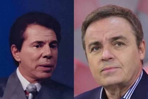 Silvio Santos e Gugu Liberato reprodução Instagram