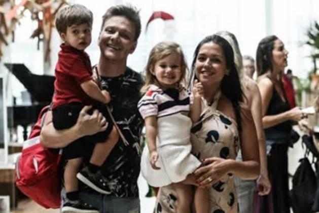 Teodoro, Michel Teló, Melinda, Thais fersoza fotos de Francisco Silva reprodução Agnews