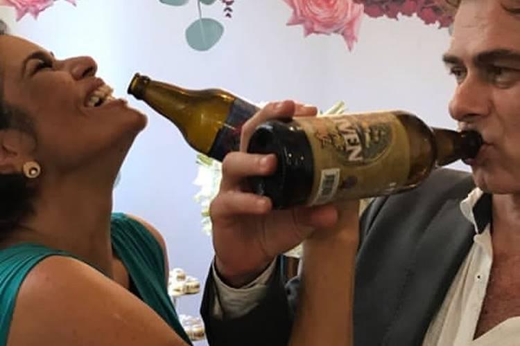 Valéria Alencar fala da emoção do casamento após 25 anos de união
