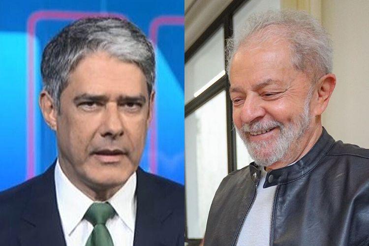 William Bonner faz alegria da web ao se confundir e citar o nome de Lula
