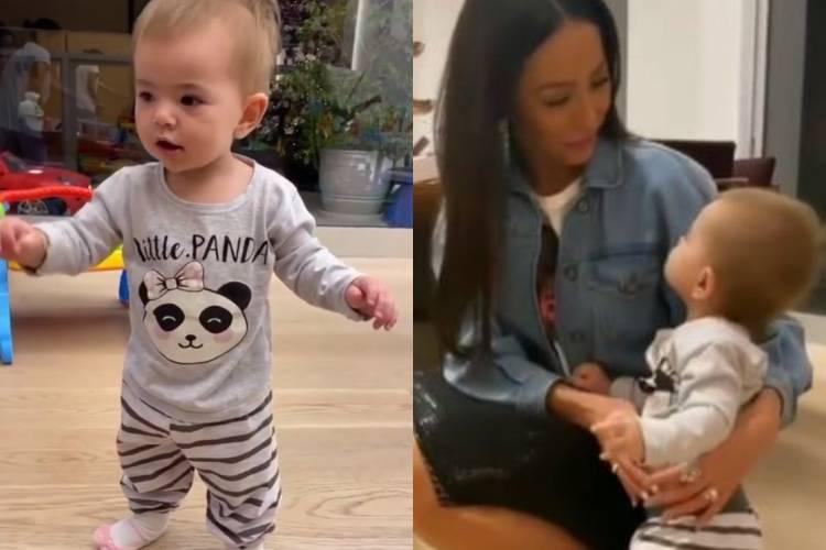 Sabrina Sato encanta ao mostrar Zoe dando os primeiros passos