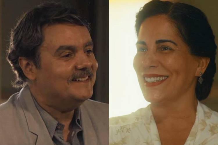 Éramos Seis: Lola e Afonso se beijam