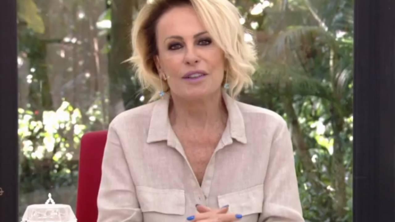 """Ana Maria Braga pede para idosos ficarem em casa: """"Não é brincadeira"""" - Área VIP"""