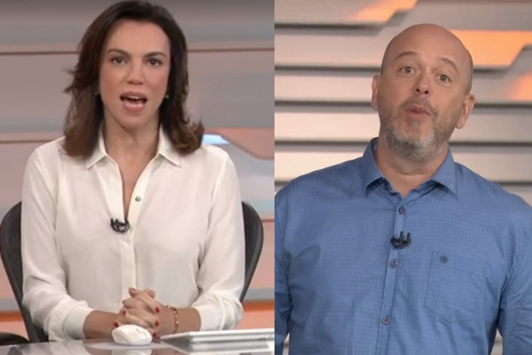Ao vivo, público é surpreendido com vazamento nos bastidores do 'Bom Dia Brasil'