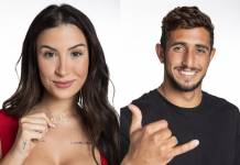 BBB20 - Bianca e Chumbo (Globo/Victor Pollak)