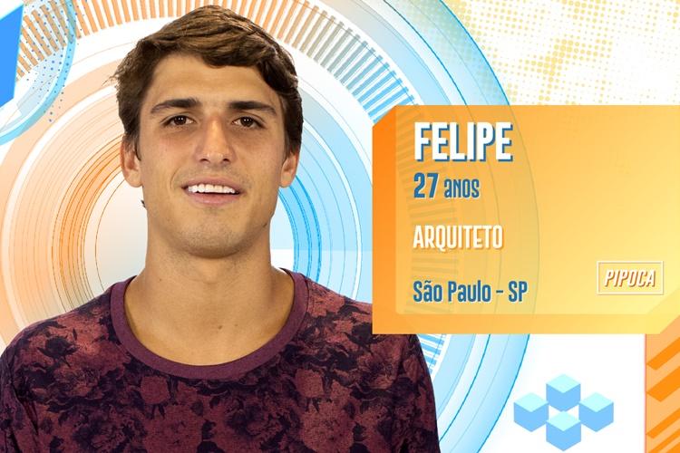BBB20 - Felipe (Divulgação/TV Globo)