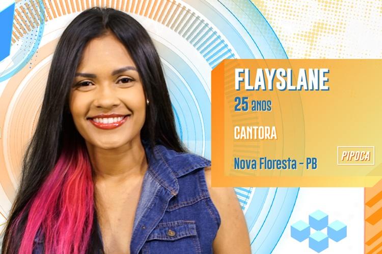 BBB20 - Flayslane (Divulgação/TV Globo)