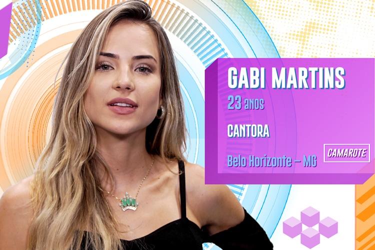 BBB20 - Gabi Martins (Divulgação/TV Globo)