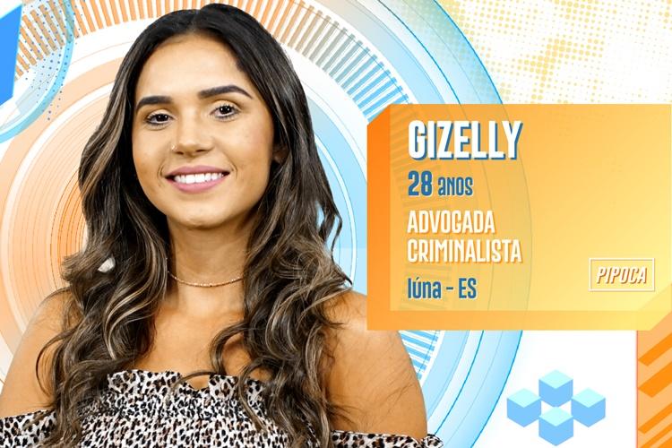 BBB20 - Gizelly (Divulgação/TV Globo)
