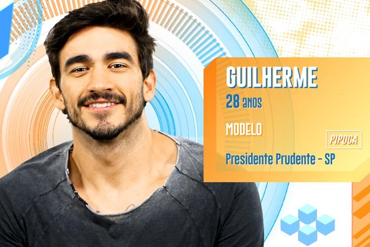 BBB20 - Guilherme (Divulgação/TV Globo)