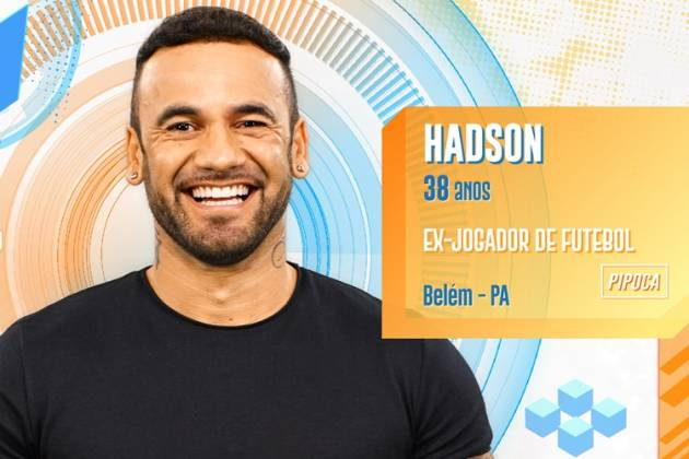 BBB20 - Hadson (Divulgação/TV Globo)