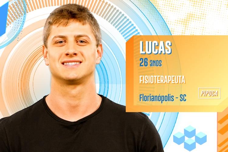 BBB20 - Lucas (Divulgação/TV Globo)