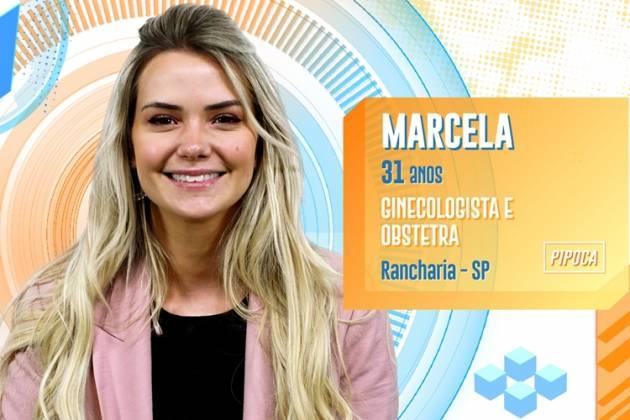 BBB20 - Marcela (Divulgação/TV Globo)