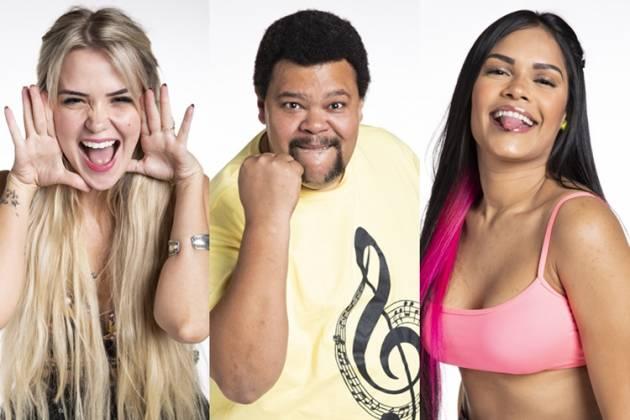 BBB20 - Marcela - Badu - Flayslane (Globo/Victor Pollak)
