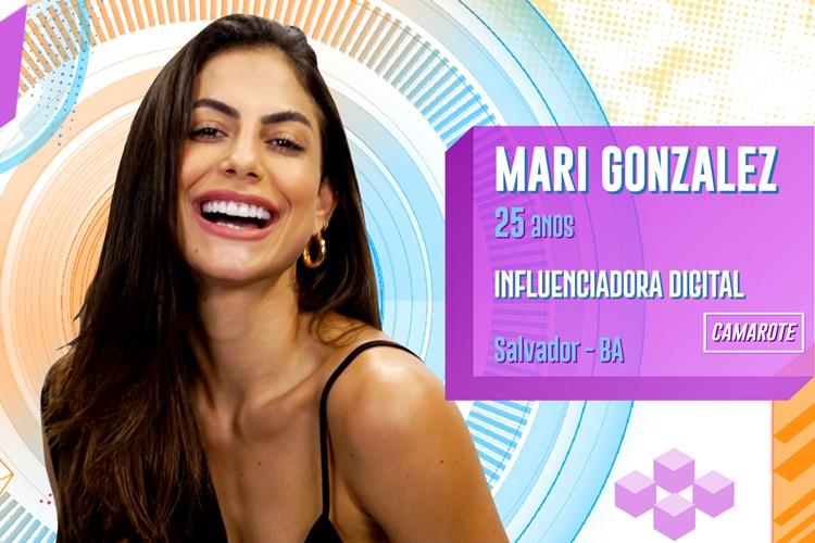 BBB20 - Mari Gonzalez (Divulgação/TV Globo)