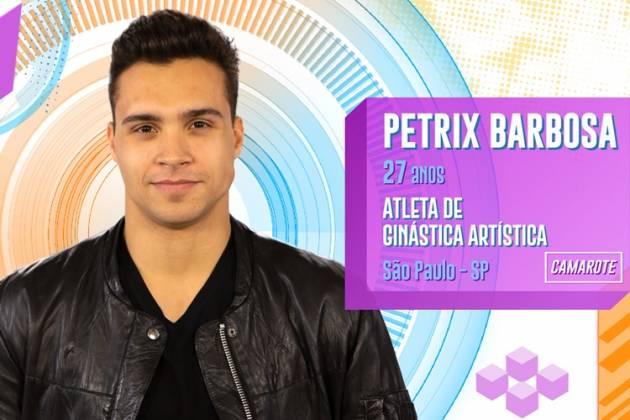 BBB20 - Petrix Barbosa (Divulgação/TV Globo)