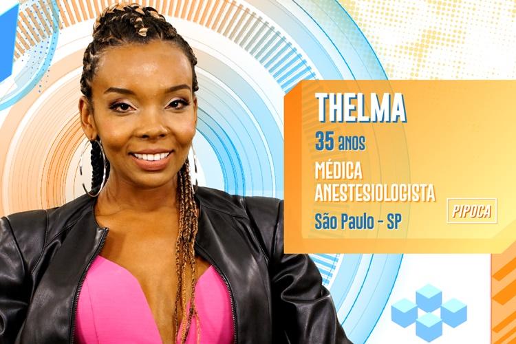 BBB20 - Thelma (Divulgação/TV Globo)