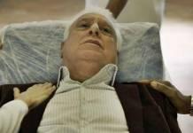 Bom Sucesso - Alberto vai para o hospital (Reprodução/TV Globo)