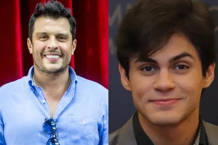 Filho de Shaolin e Wellington Muniz são contratados para 'Domingo Show' com Sabrina Sato