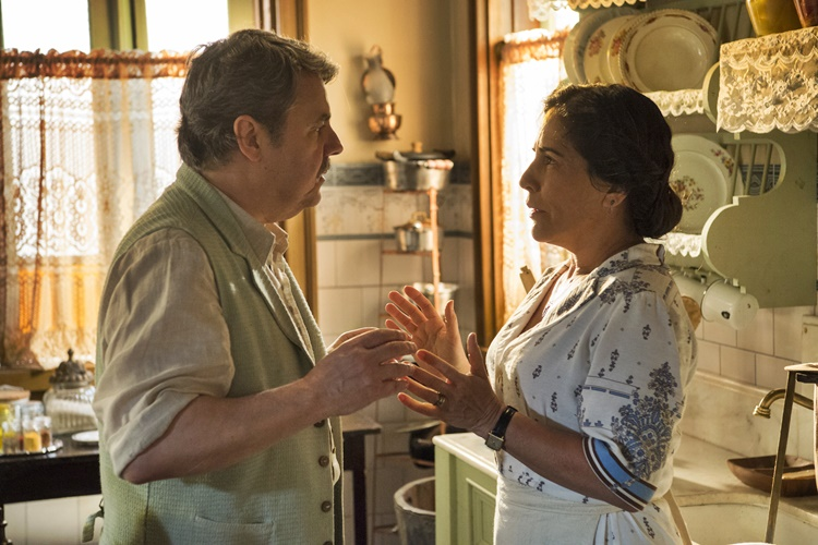 Éramos Seis - Afonso e Lola (Globo/Estevam Avellar)