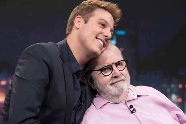 Fábio Porchat parabeniza Jô Soares pelo aniversário de 82 anos