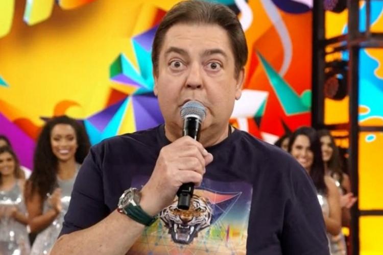 Fausto Silva – Reprodução/Globo