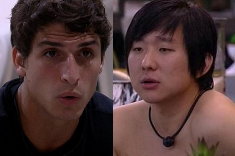 BBB20: Felipe rasga o verbo sobre Pyong Lee e arma estratégia contra o brother