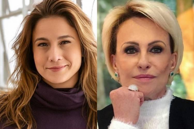 """Fernanda Gentil manda mensagem para Ana Maria Braga: """"Força pra você"""""""