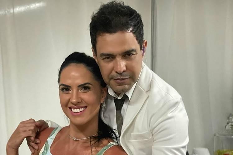 Em quarentena, Graciele Lacerda, noiva de Zezé di Camargo, destaca corpo sarado ao lado do sertanejo