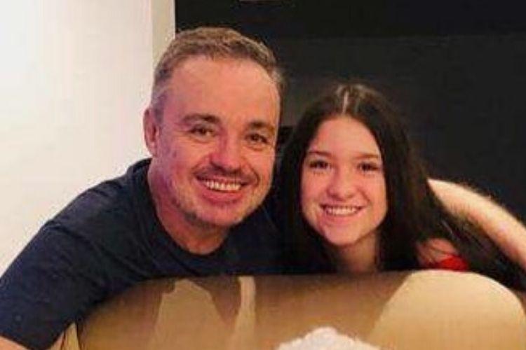 Filha de Gugu Liberato volta às redes sociais após morte do pai